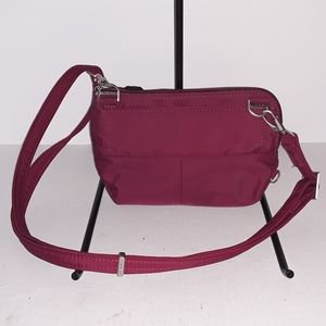 Travelon RFID Pleated Crossbody - NWOT